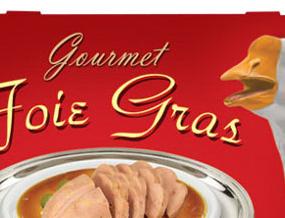 Kauwgom voor de rijken: met foie gras-smaak