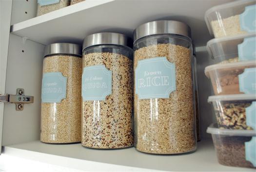 Voorraadkast Keuken Inhoud : Printable Pantry Labels