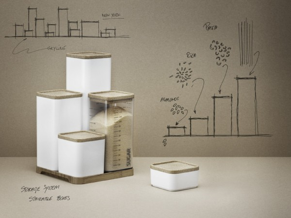 prachtig opbergsysteem voor in de keuken. Black Bedroom Furniture Sets. Home Design Ideas