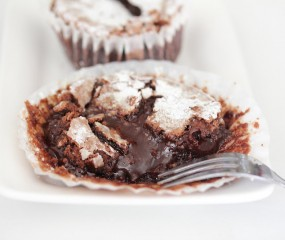 Heerlijk recept + video: Chocolate Lava Cupcakes