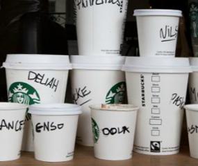 Geestig spelletje: hoe Starbucks je naam altijd verkeerd spelt