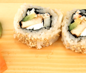 Video: Chicken Teriyaki Sushi Rolls maken