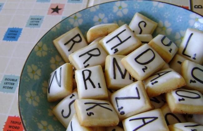 DIY: Scrabble koekjes
