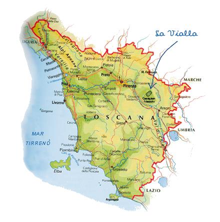Toscane-La-Vialla