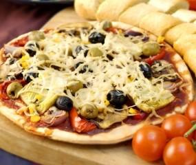 's Werelds grootste (bezorgbare!) pizza