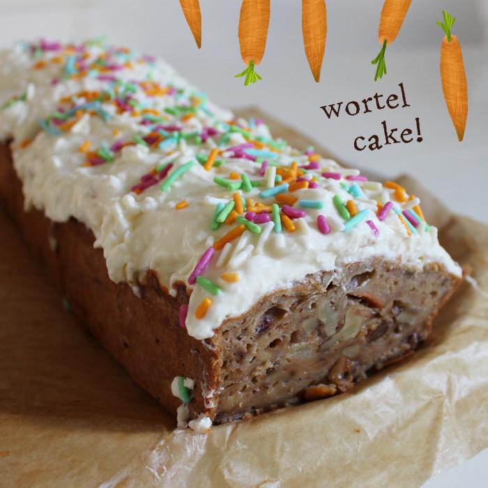 Afbeelding van gezonde carrot cake