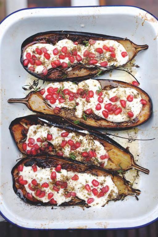 Recept voor aubergines van Ottolenghi