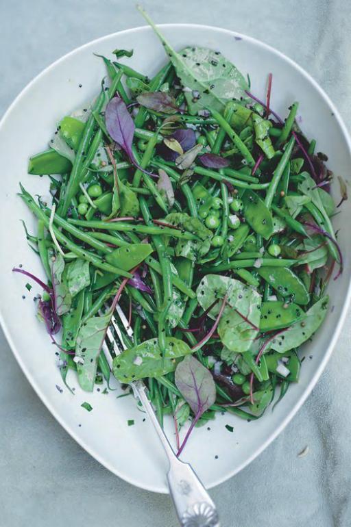 Groene salade van Ottolenghi