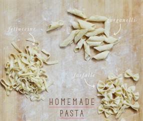 Alles over de verschillende soorten pasta en bijbehorende sauzen