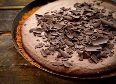 Chocoladetaart met speculoos