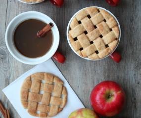 DIY: dekseltjes van koek voor op je kop koffie, thee of warme choco