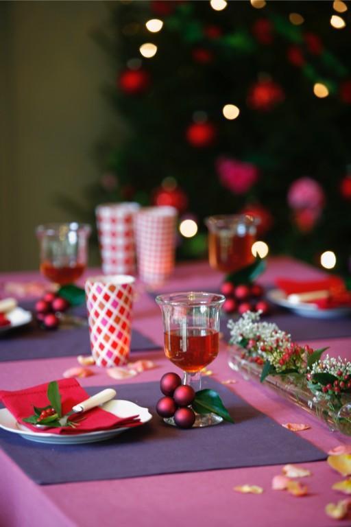 Stock kerst tafel dekken0002