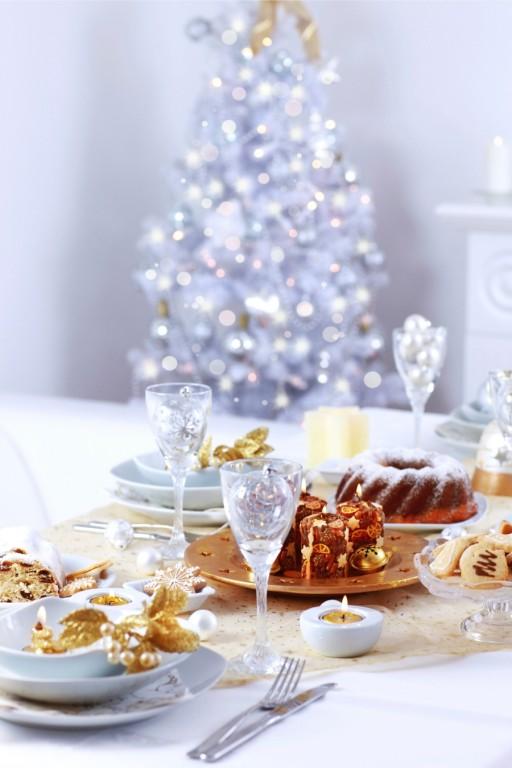 Stock kerst tafel dekken0005
