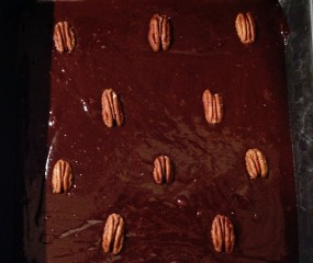 Culy Homemade: 'droge' dark chocolate brownies