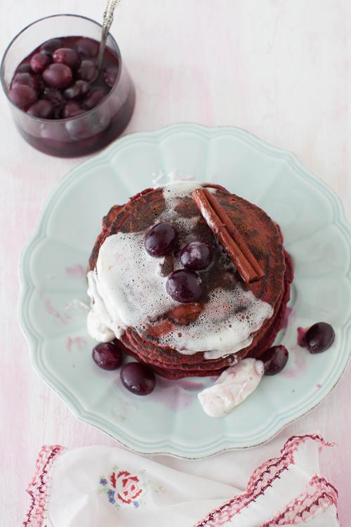Beet Pancakes 2