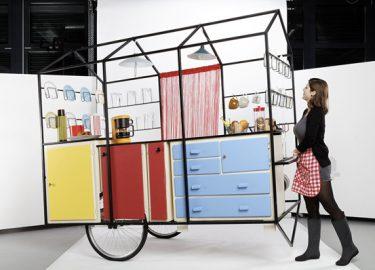 Té leuk: een tof ontworpen mobiele keuken culy.nl