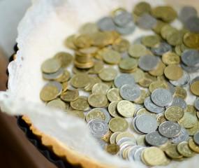 Tip van ***Heston Blumenthal: blind bakken met muntjes