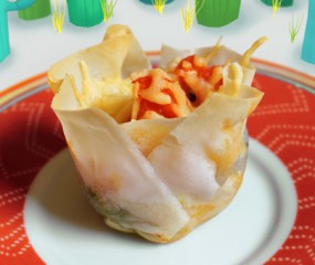 Culy homemade: Mexicaanse taco cupcakes