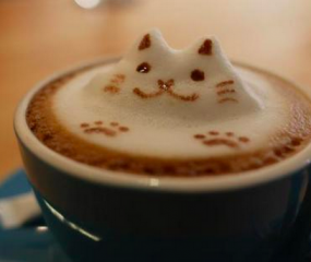Na latte art, nu ook coffee foam art