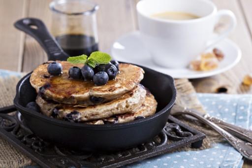 pancakes stock