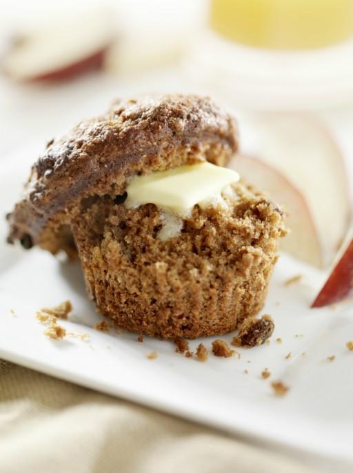 Muffins glutenvrij brood stock
