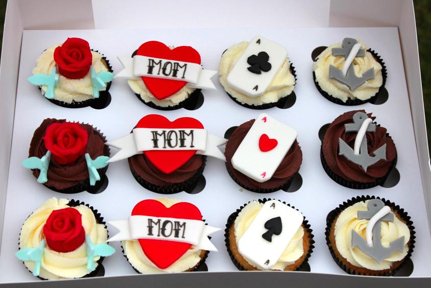 De beste tips om cupcakes taarten te decoreren for Decoratie cupcakes