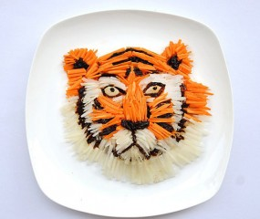 Adembenemende food art door Hong Yi