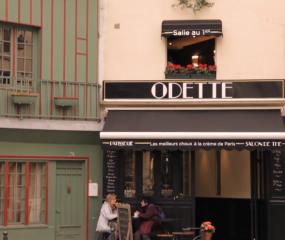 Om blij van te worden: patisserie Odette in Parijs