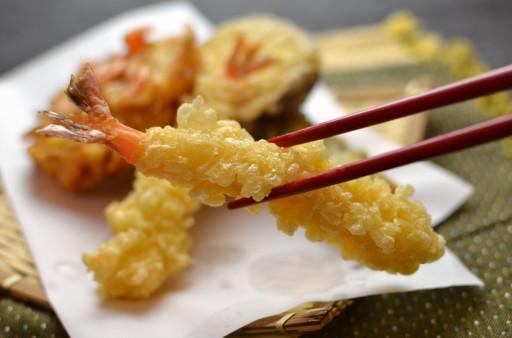 tempura garnalen