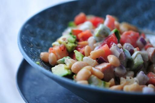 salade als ontbijt