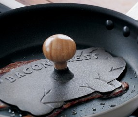Alleen voor échte baconlovers: de bacon press