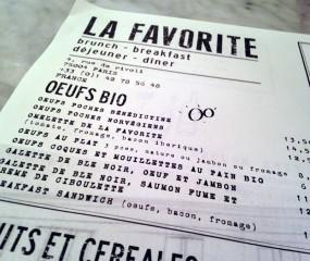 Onze favoriet in Parijs: La Favorite