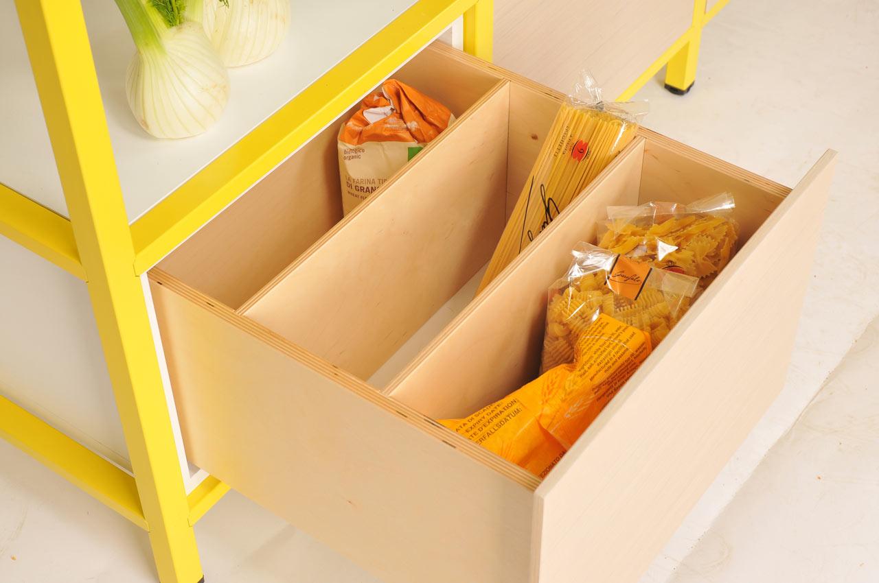 Tof concept voor het opbergen van je voorraad - Maken van zijn boekenkast ...