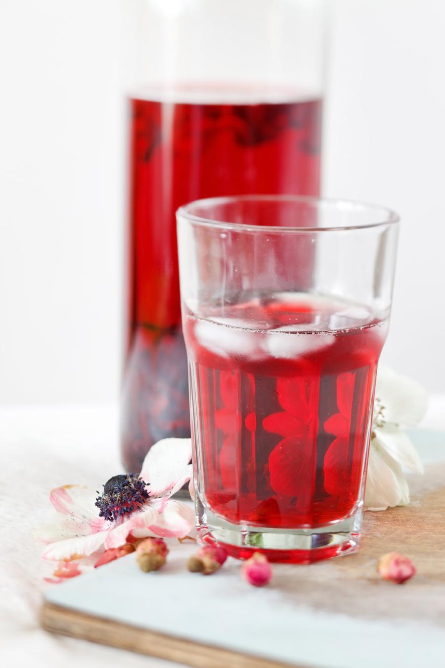 hibiscus ijsthee