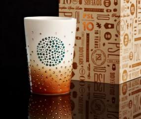 Limited edition Starbucks-beker met Swarovski kost €113,-