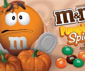 De pompoengekte in Amerika gaat door: nu ook M&M's met pumpkin spice-smaak