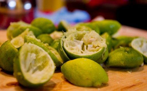Key Lime Rinds