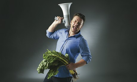 Jamie Oliver in London, N1