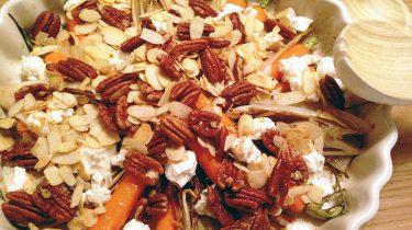 Witlof met bospeen en noten