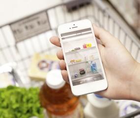 Tof concept van Quirky: een camera in je koelkast