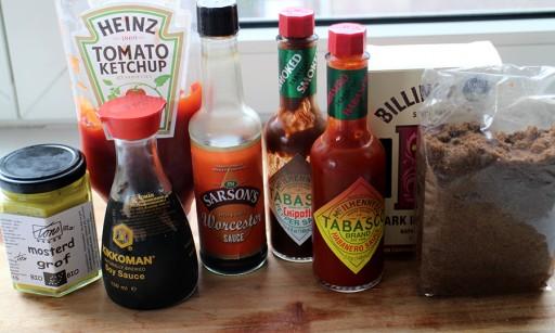 homemade barbecuesaus ingrediënten