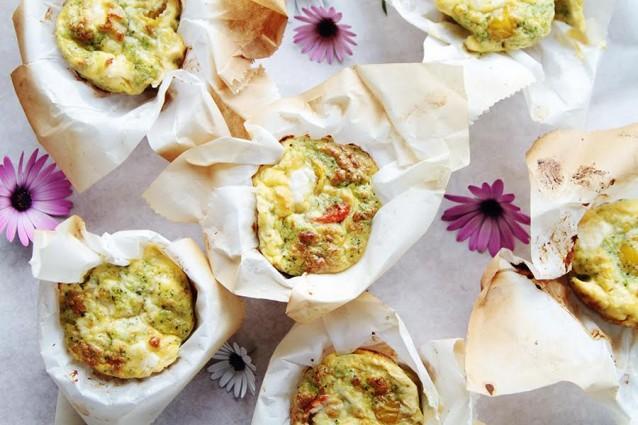 Heerlijke hartige muffins met broccoli2