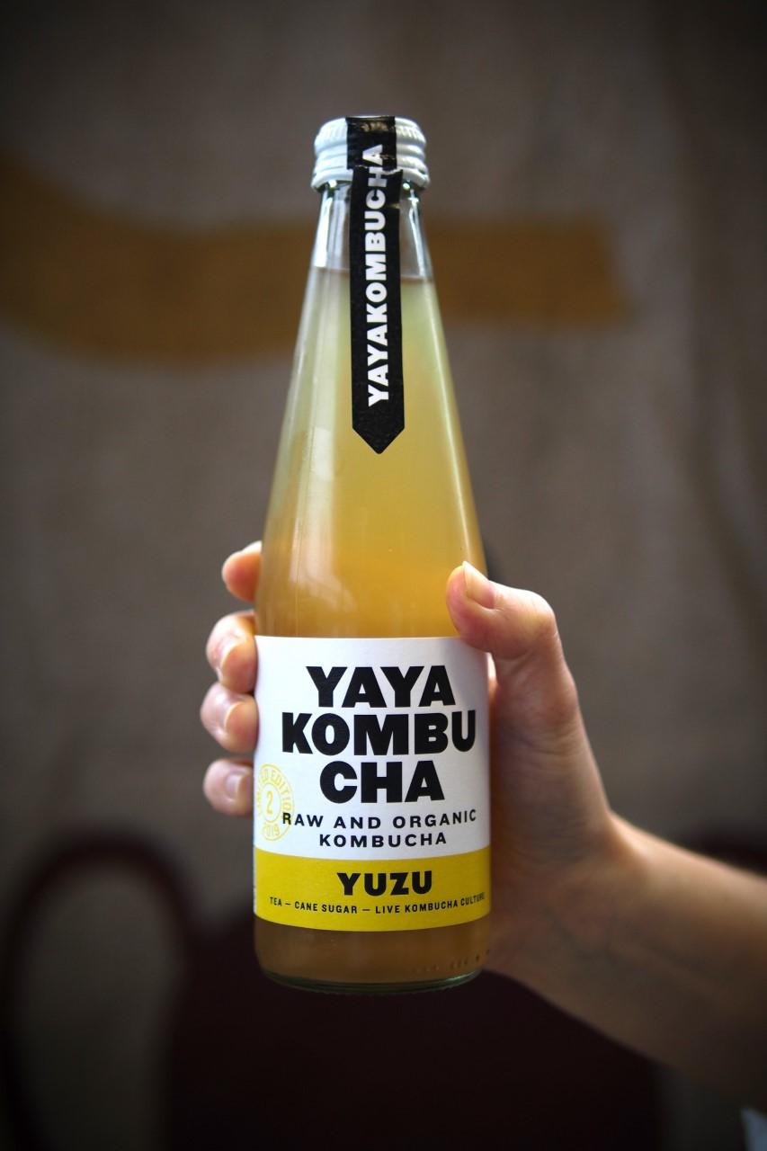 Yaya Kombucha met yuzu