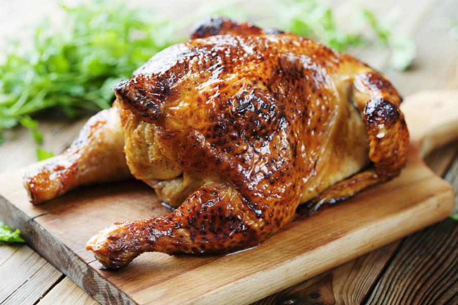how to cook a small roast chicken