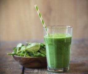 Supergezonde green smoothie maken in een blender