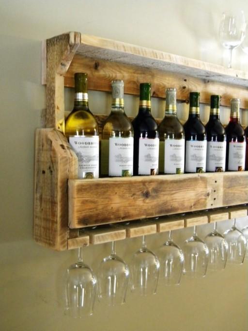 De coolste DIY ideeën om je eigen wijnrek te maken - Culy.nl