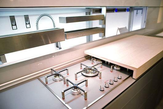 Houten Keuken Werkbank : Kleine keuken? Maak een werkbank boven je fornuis of gootsteen