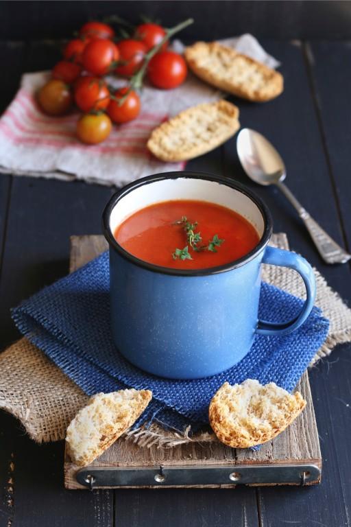 Stock tomatensoep