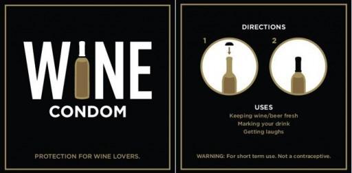 Wijn condoom2