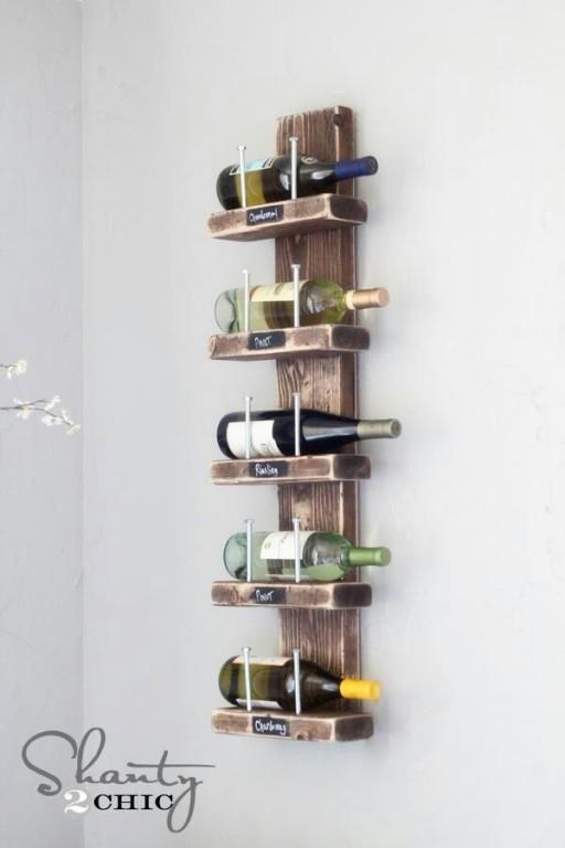 Geliefde De coolste DIY ideeën om je eigen wijnrek te maken - Culy.nl @TL27